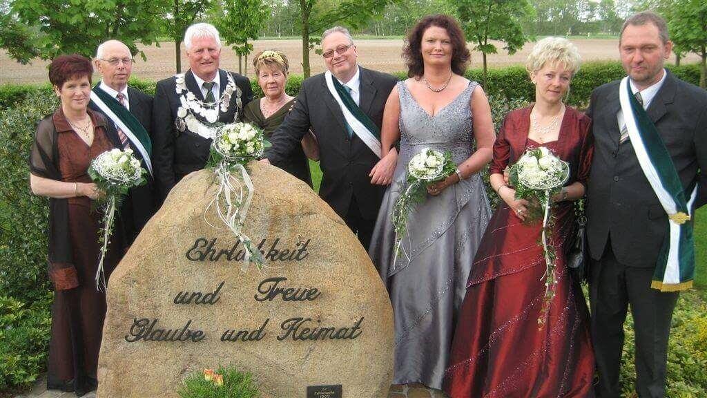 Thron 2009 - König: Georg Modest Königin: Bärbel Modest