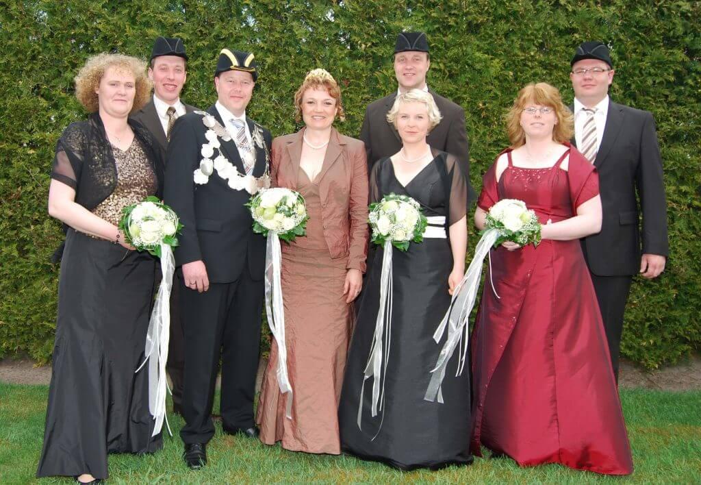 Thron 2010 - König: Andreas Menger Königin: Kati Menger